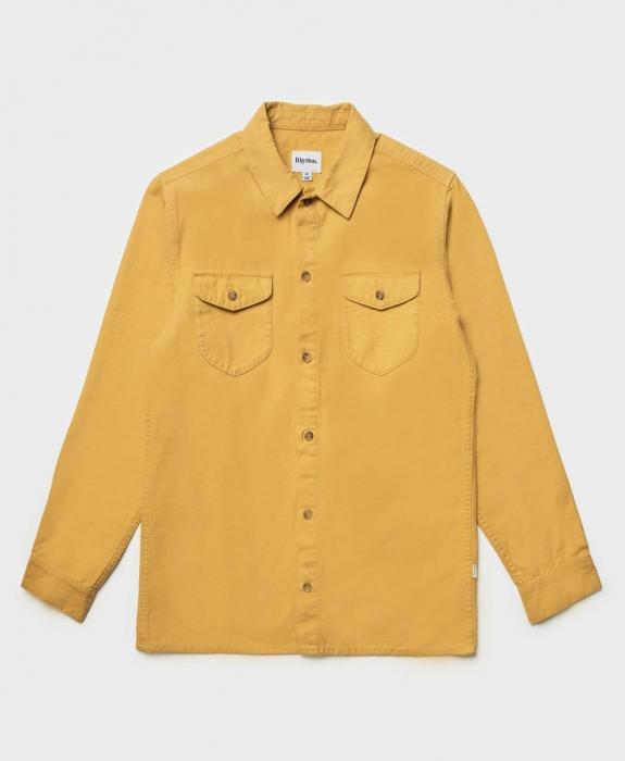 Rhythm - Moleskin LS Shirt