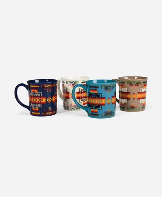 12oz Ceramic Mug Set of 4