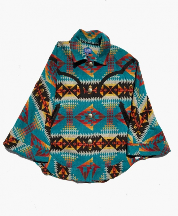 Mountain Majesty Blanket Poncho