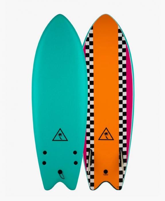 Catch Surf - Heritage 5'6 - Retro Fish - Twin Fin