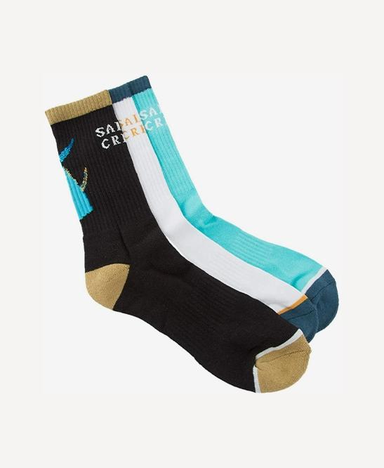 Tailed Sock 3 Pk