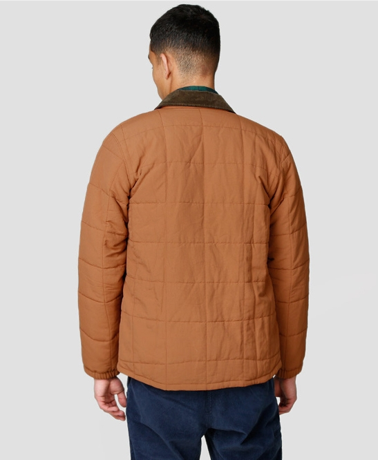 Isthmus Quilted Short Jacket