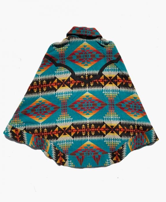Mountain Majesty Blanket Poncho