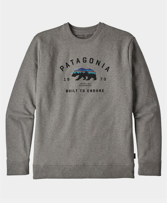 Arched Fitz Roy Bear Uprisal Crew Sweat Shirt