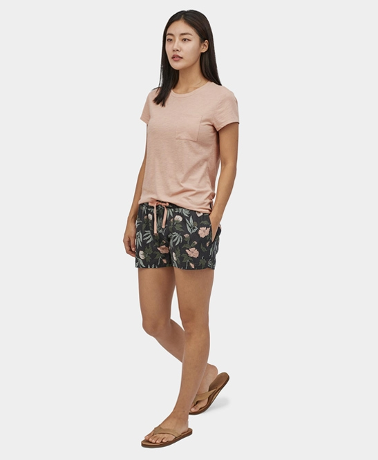 W's Island Hemp Baggies Shorts