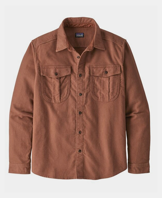 Long-Sleeved Topo Canyon Moleskine Shirt