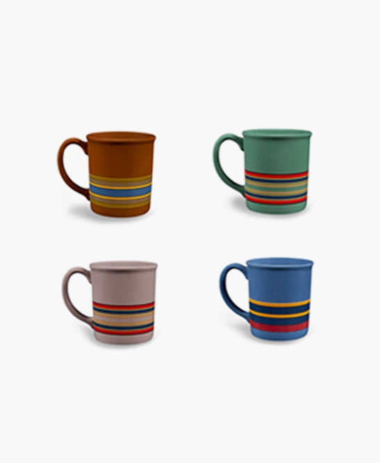 12oz Ceramic Mug Set of 4