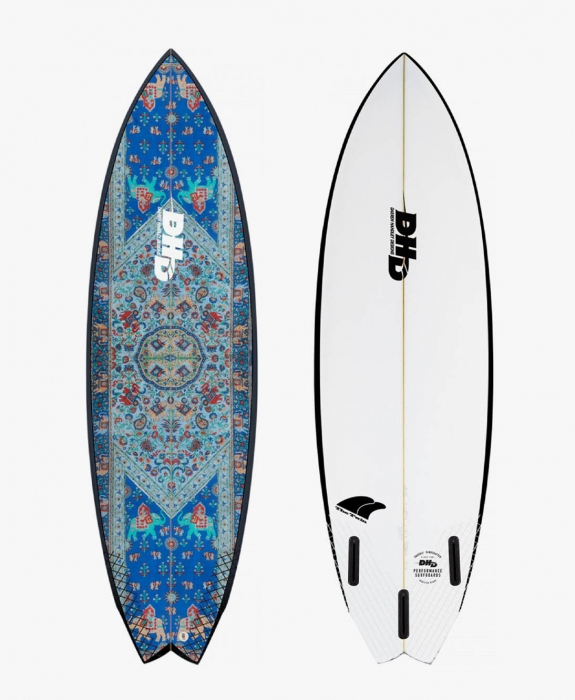 DHD Surfboards - Twin Fin 5'8