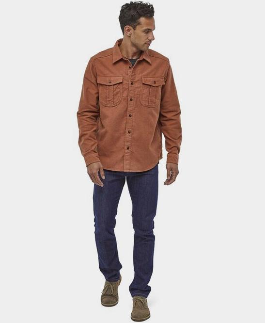 Long-Sleeved Topo Canyon Moleskine Shirt
