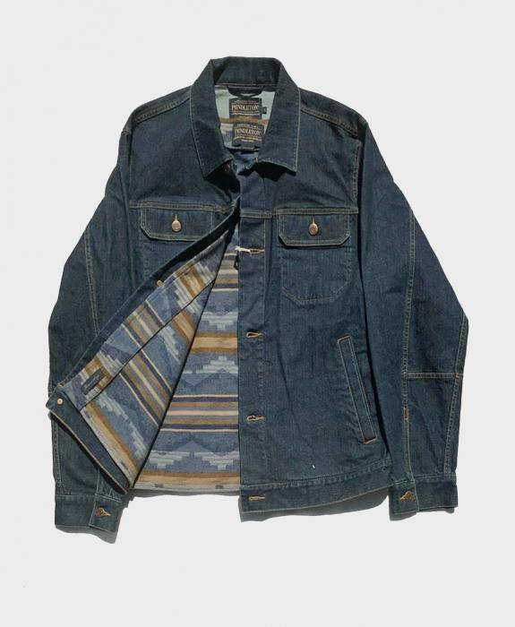 Denim Vest with Pinetop Wool Insert