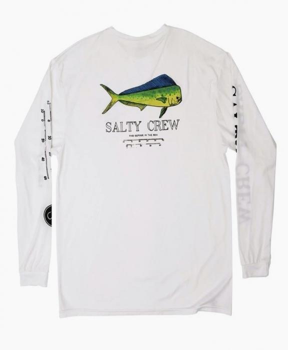 Salty Crew - Bull L/S Tech Tee Rashguard