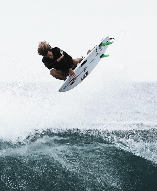DHD Surfboards - Phoenix Flames 5'6