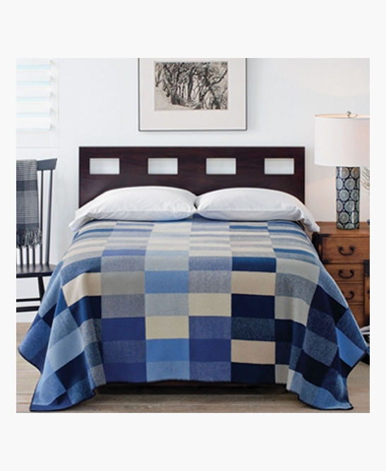 Boro Patchwork Jacquard Throw