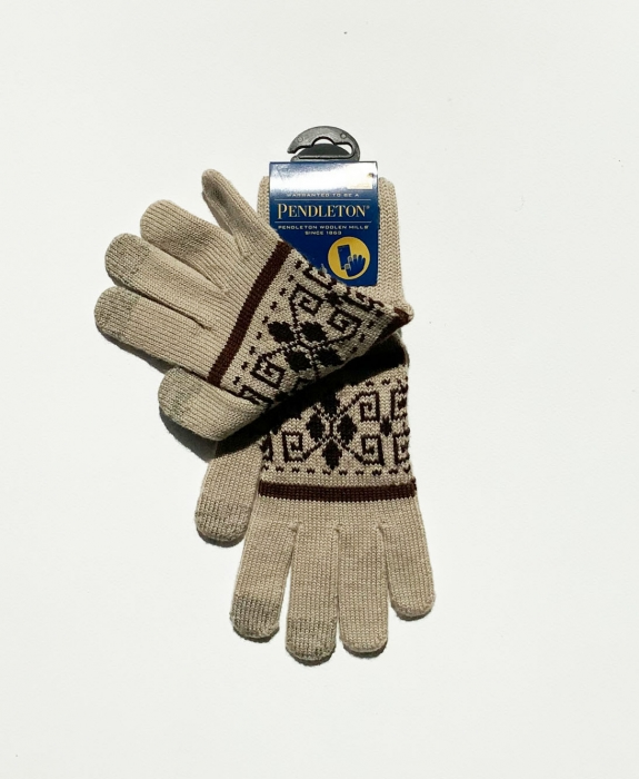 Jacquard Wool Gloves