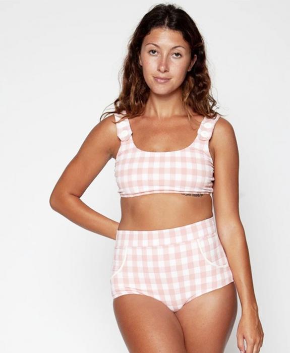 Seea - Georgia High Waist Bikini Bottom