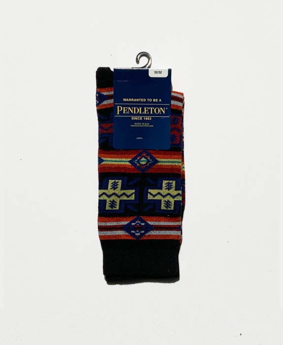 Pueblo Cross Crew Sock