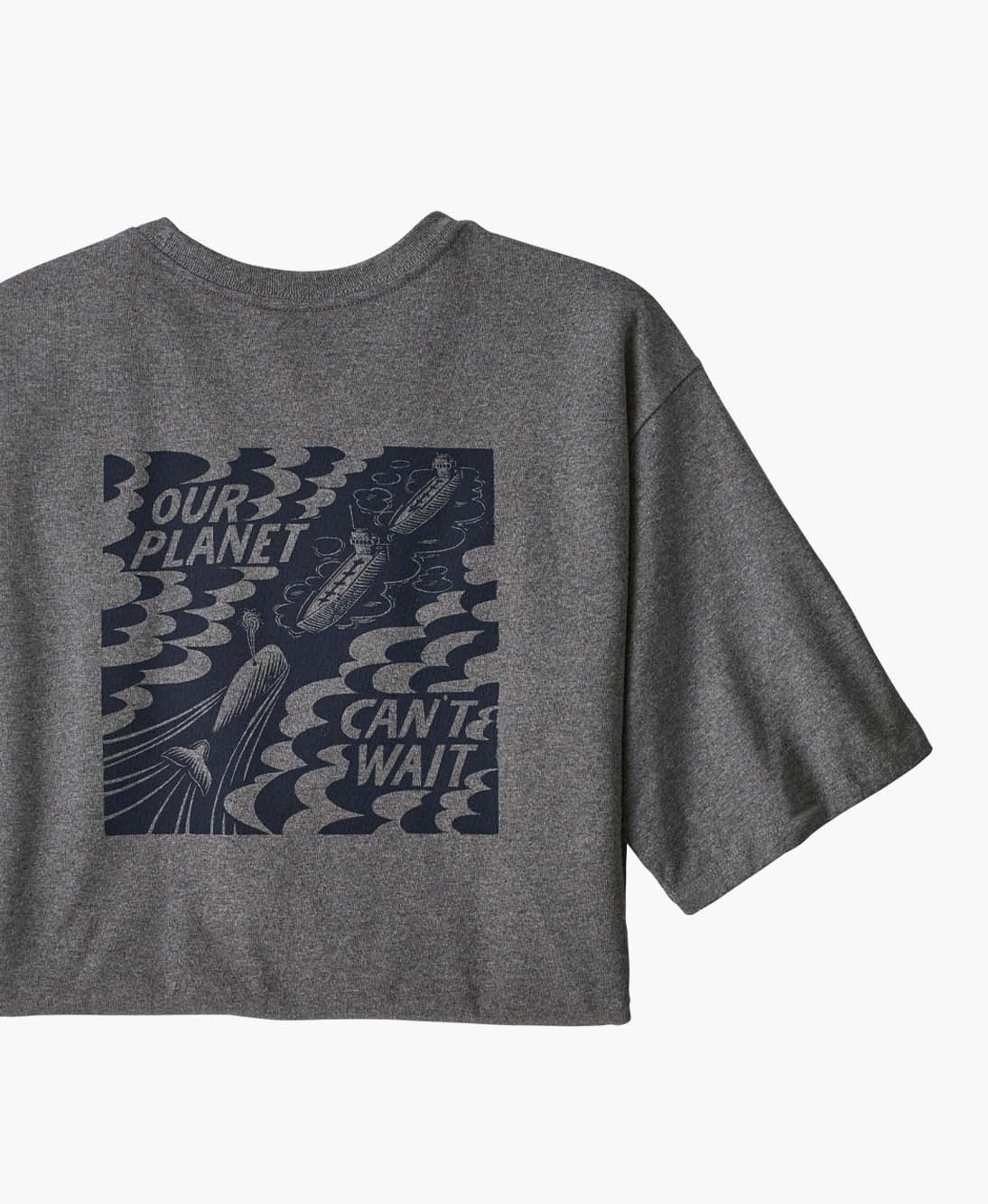 Patagonia - M's Our Planet Can't Wait Responsibili-tee