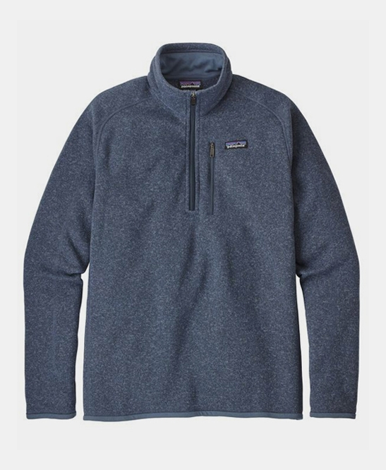 Better Sweater 1/4 Zip Dolomite Blue
