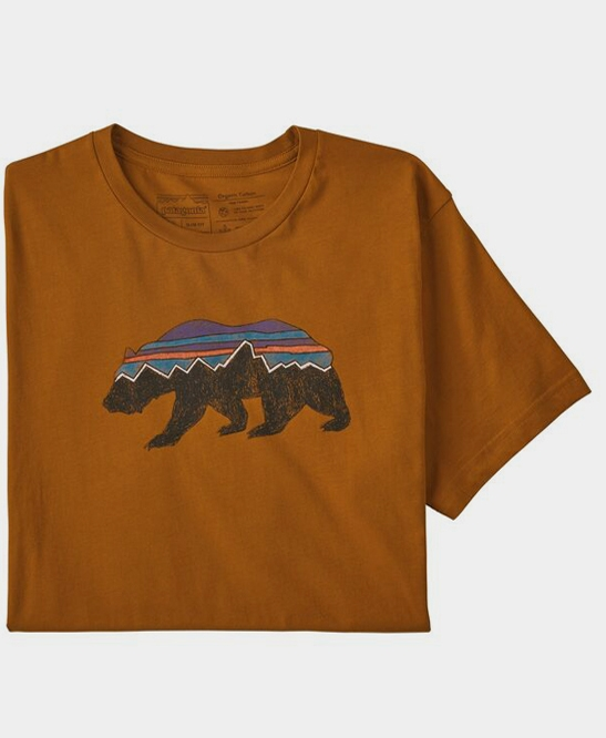 Fitz Roy Bear Organic T-shirt