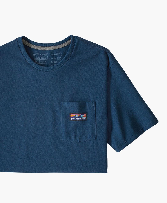 Patagonia - M's Boardshort Label Pocket Responsibility-tee