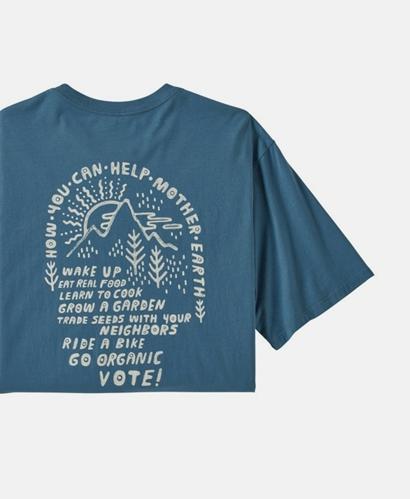 M's How to Help Organic T-Shirt
