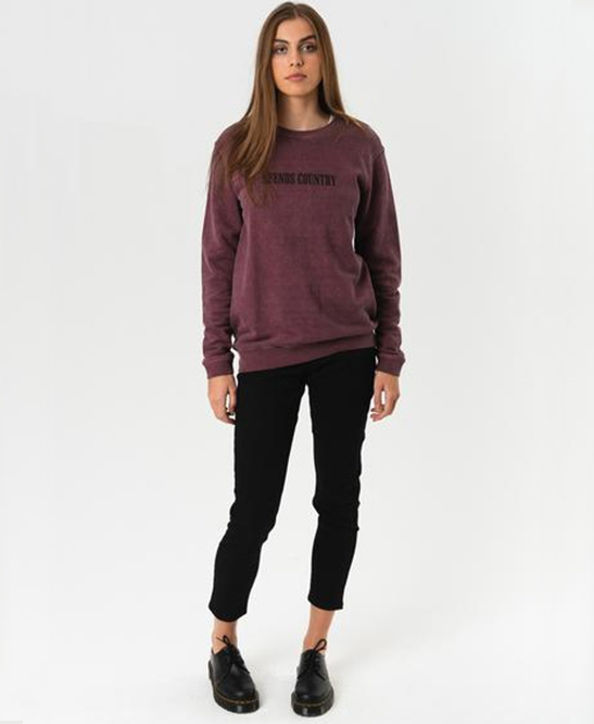 Afends - Hemp Crew Neck
