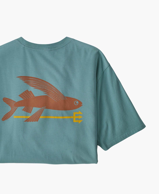 Patagonia - M's Flying Fish Organic T-Shirt
