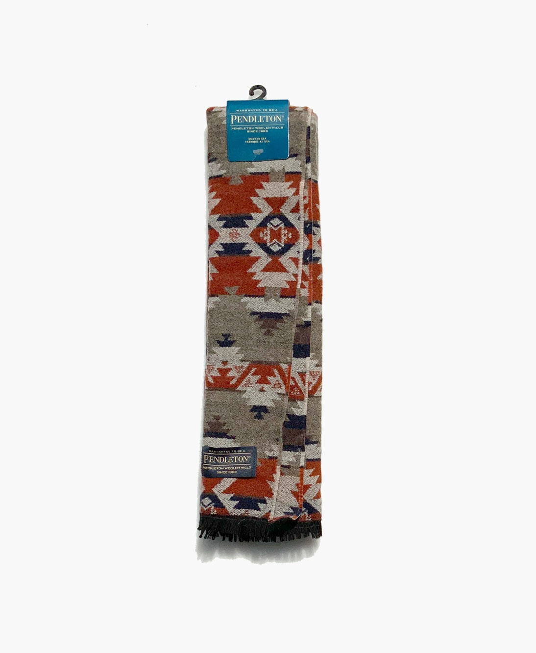 Native Pattern Jacquard Scarf