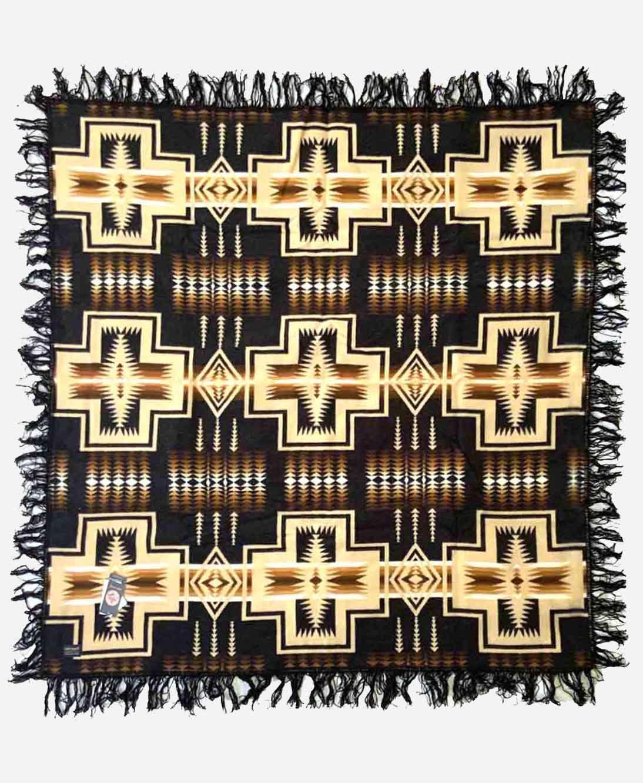 Pendleton - Beaver State Wool Fringe Blanket