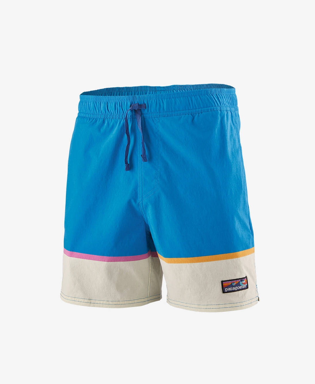 Patagonia - M's Stretch Wavefarer Volley Shorts Bottom Leg Stripe